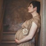 Семейная фотосессия-Беременность-фотосессия беременной девушки в студии-фотограф Оксана Сур_0033